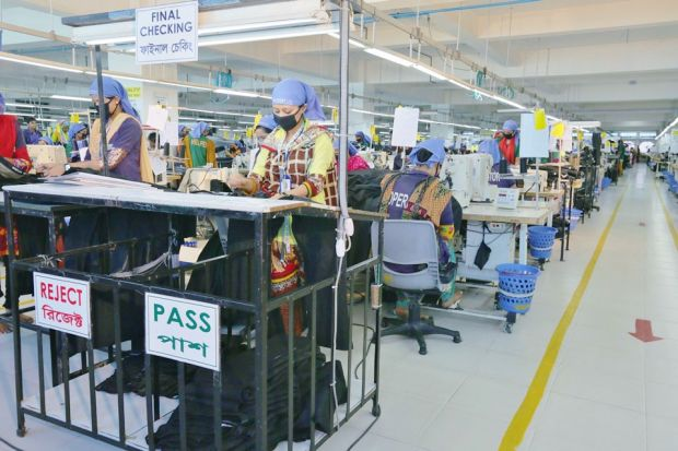 Positive example: denim manufacturing at Denim Expert Ltd. in Bangladesh