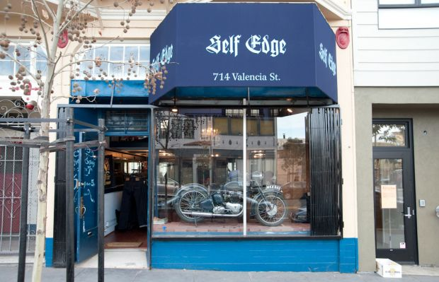 Self Edge store in San Francisco