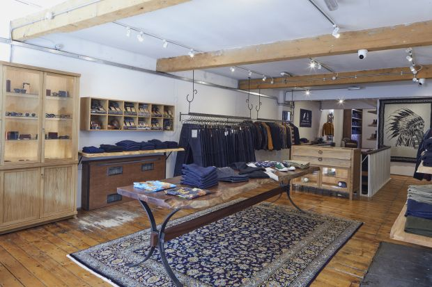 Rivet and Hide store in Manchester
