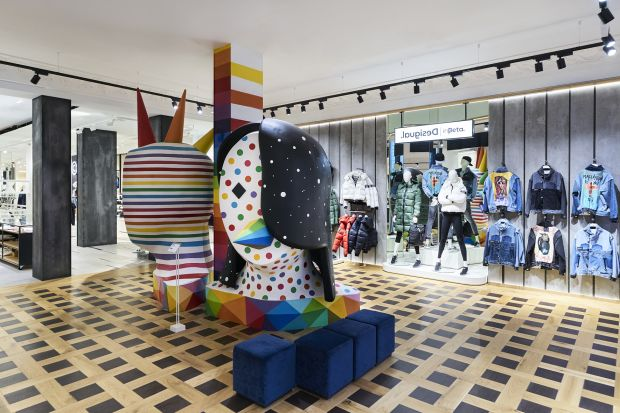 Desigual's new concept store on Portal del Angel in Barcelona