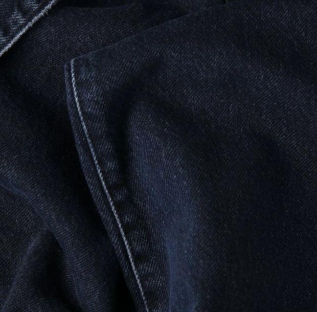 Detail shot denim