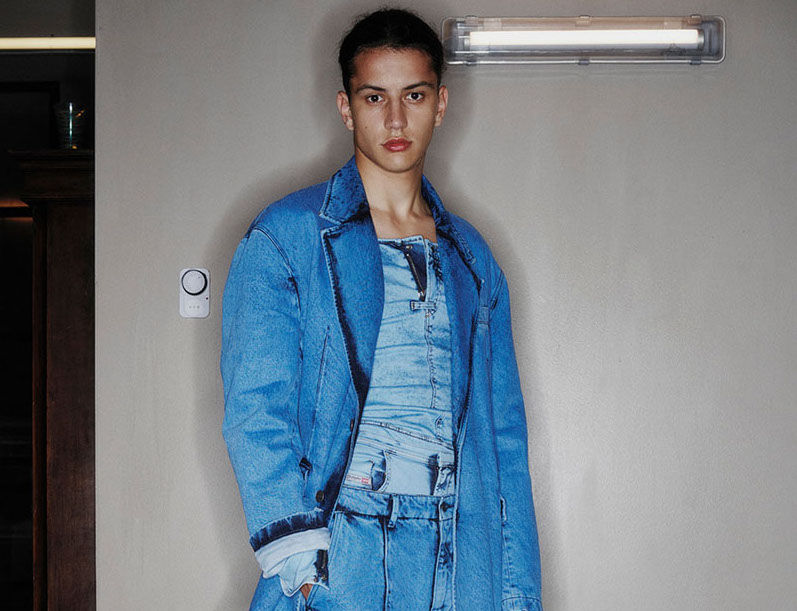 Discover Diesel's new more sustainable s/s 2022 collection