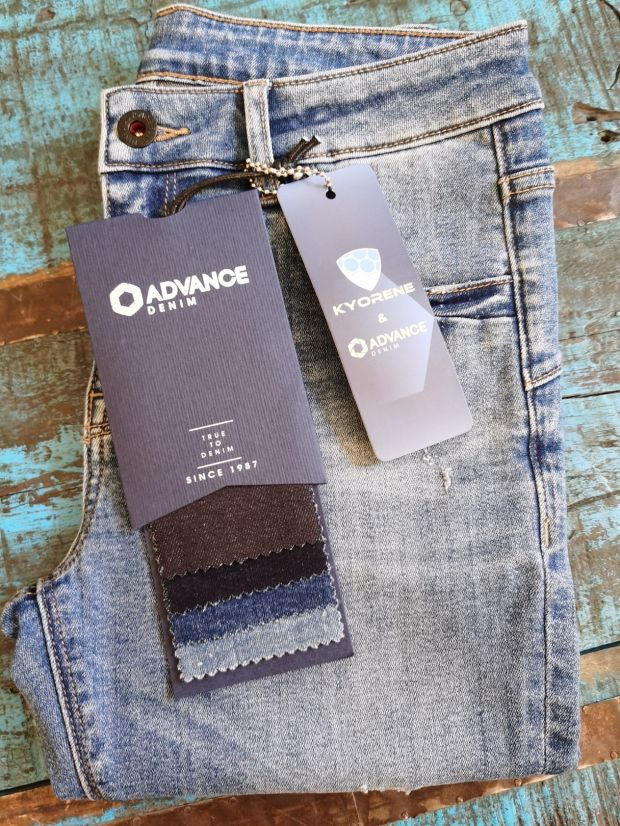 Kyorene single-layer graphene denim by Advance Denim
