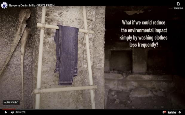 Naveena Denim Mills video presentation (screenshot)