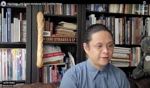 Henry Wong, product development director, AGI Denim