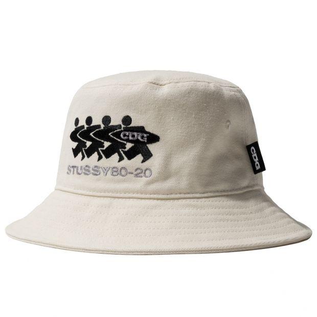 Stüssy x CDG bucket hat