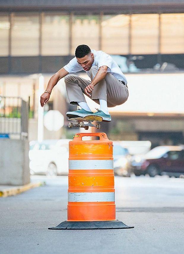 Vans has its roots in skateboarding.