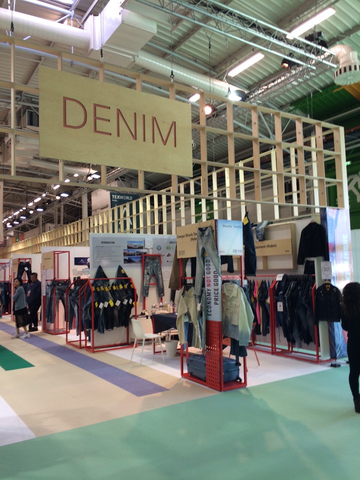 Discover the coolest trends at Texworld Denim