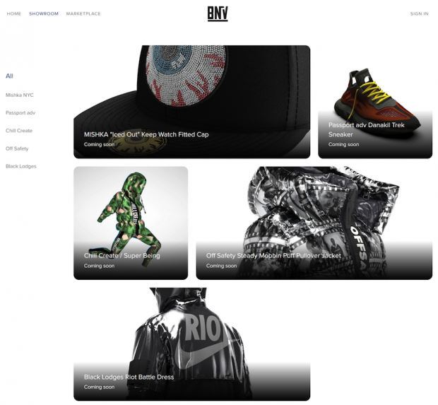 3D apparel on auction on bnv.me