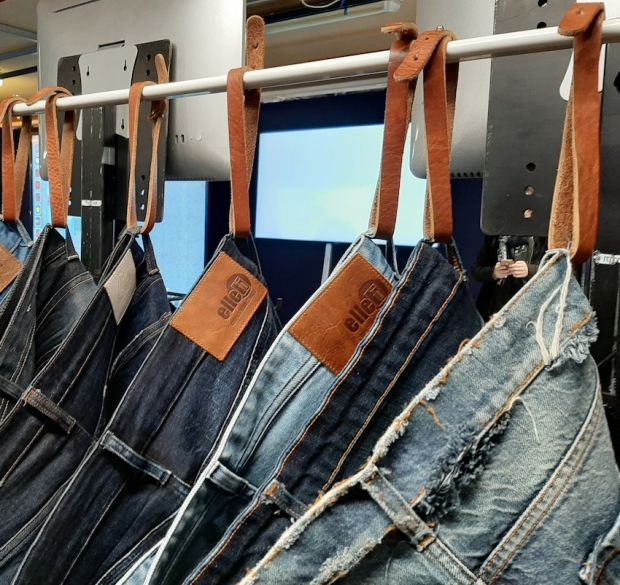 Jeans manufactured by Elleti Group