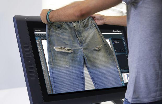 Inspiration image of Jeanologia's eDesigner concept