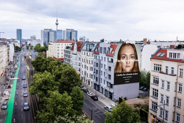 Facing Extinction mural Berlin