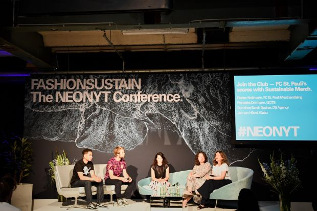 Fashionsustain conference during Neonyt in Berlin, July 2019