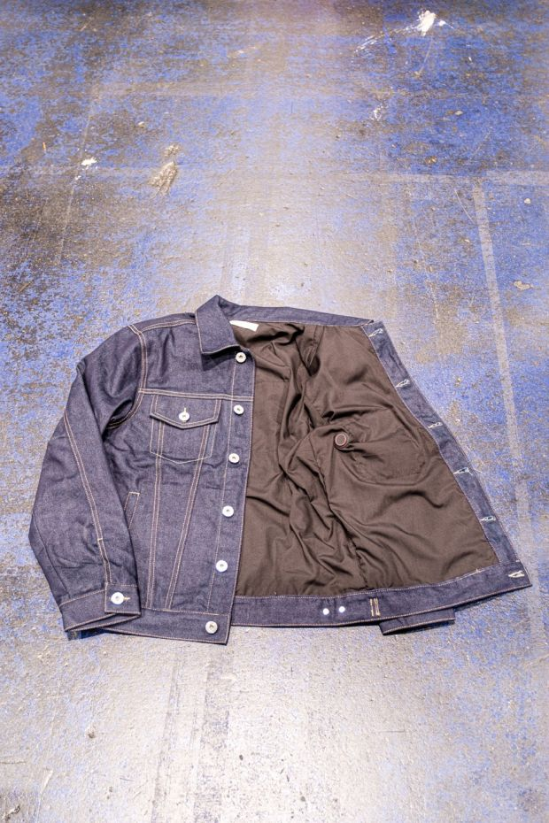 Envoy self-warming denim jacket