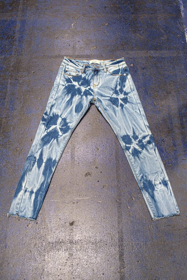 Envoy tie and dye jeans