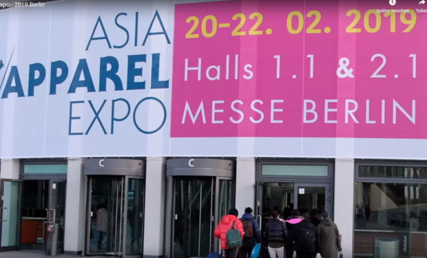 Asia Apparel Expo edition in 2019