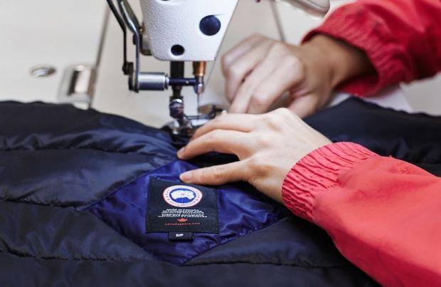 Canada Goose wants to emphasize craftsmanship