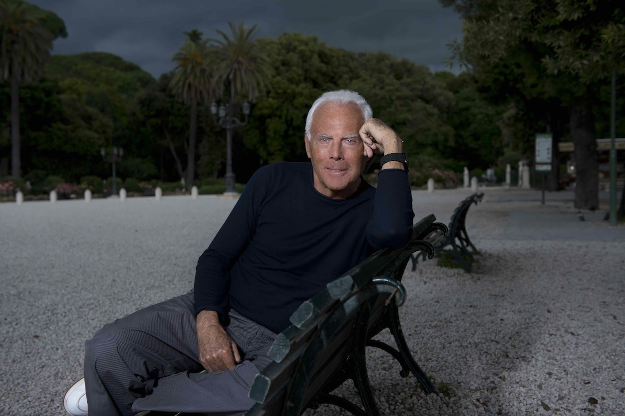 Giorgio Armani: 'Memory and action can help build a better world'
