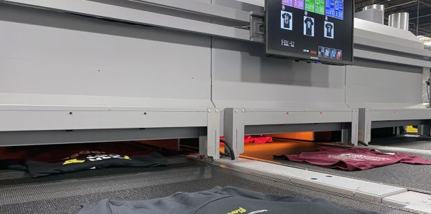 On demand printing facility