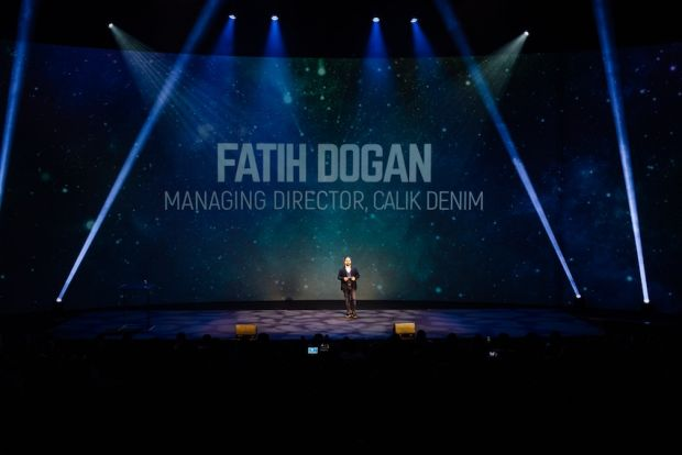 Fatih Dogan, managing director, Calik Denim, opening Ever Evolving Talks