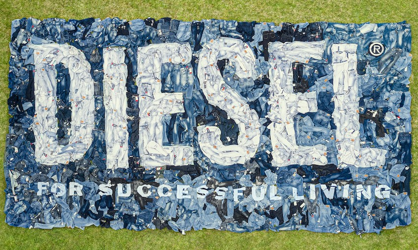How Diesel Library wants to start a new sustainable denim direction