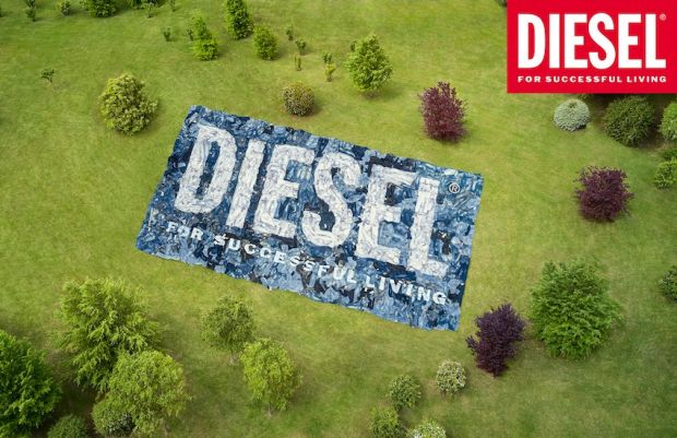 Diesel Library campaign pic