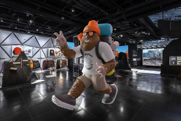 AR experience at Nike ACG's House of Innovation in New York City