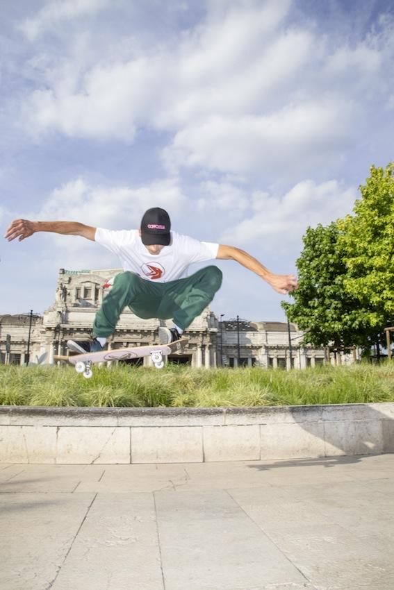 Skateboarding is part of Coppolella's DNA