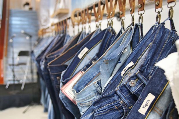 Example image from the Denim Innovation Celebration show in Los Angeles in February 2020