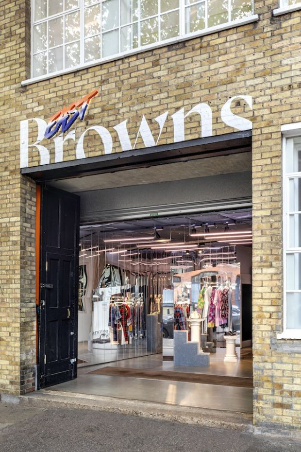 Browns East store facade