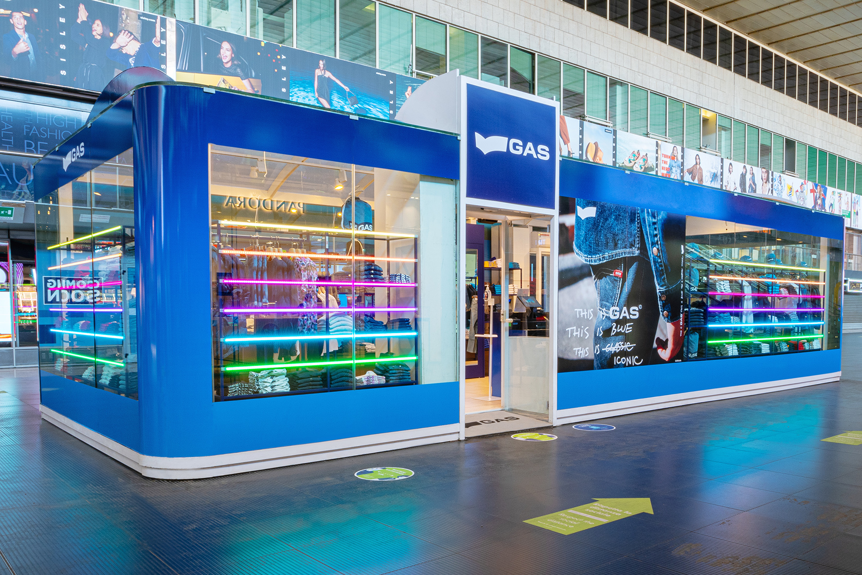 How Gas Jeans bets on travel retail and export