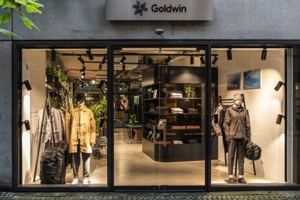 Goldwin recently opened its first European store in Munich