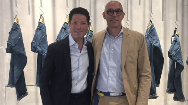 From left: Matteo Marzotto and Matteo Anchisi, Dondup