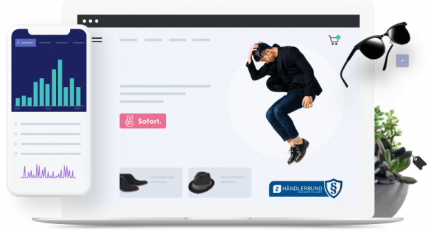 Shopify provides software to run e-commerce shops