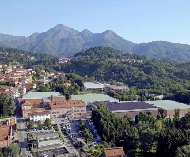 Vitale Barberis Canonico factory in Biella