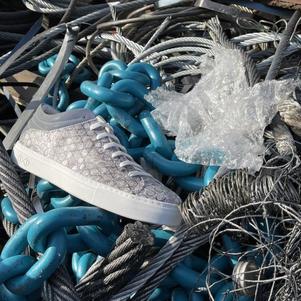 Bubble Wrap sneaker made with Remeant by Nat-2