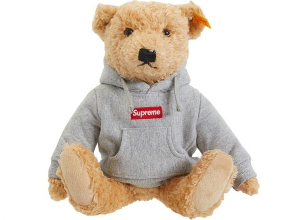 For Supreme fans that have a soft spot for stuffed animals (Supreme Steiff bear)