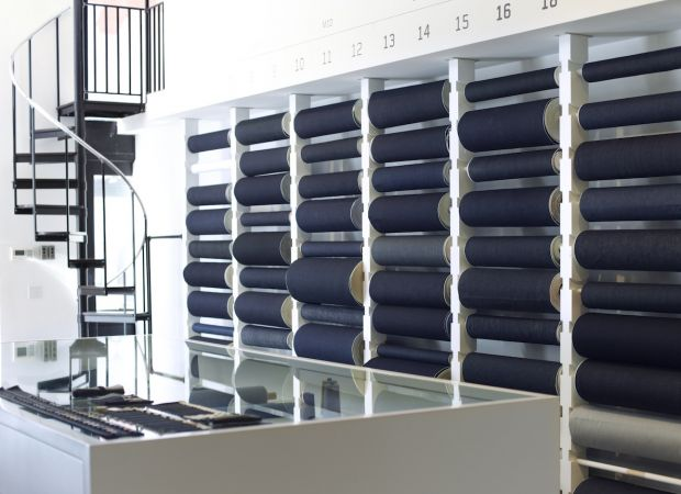 Store of denim brand 3x1