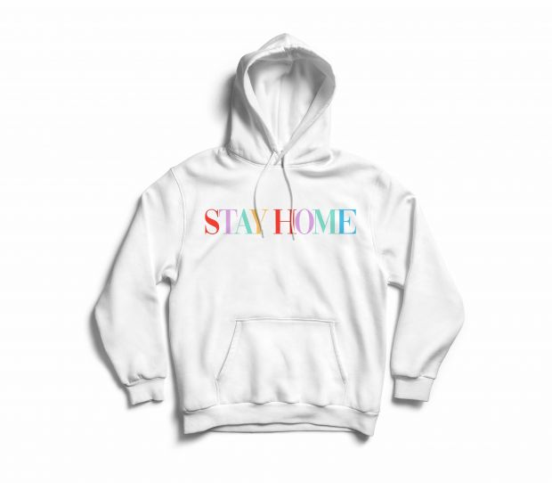 Stay at Home hoodie from Hey Soho