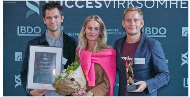 "KnowledgeCotton Apparel wins the ""Success Business 2019 – Sustainability"" award"