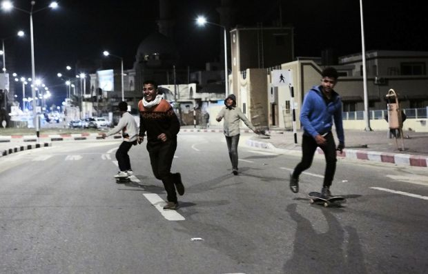 Ha'Ramba Skatepark in Gaza, a project supported by Anti-Do-To