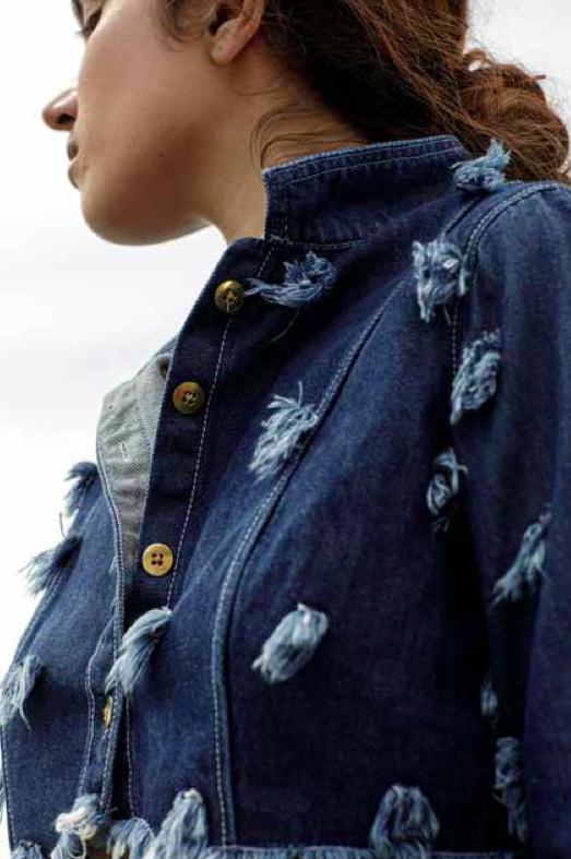 Denim jacket by Nece Gene