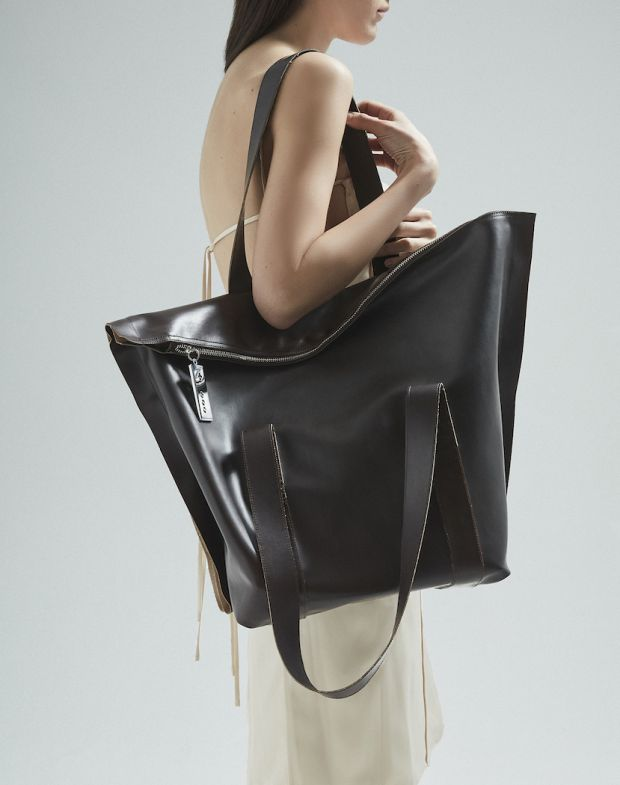Large tote bag by +Three°°°