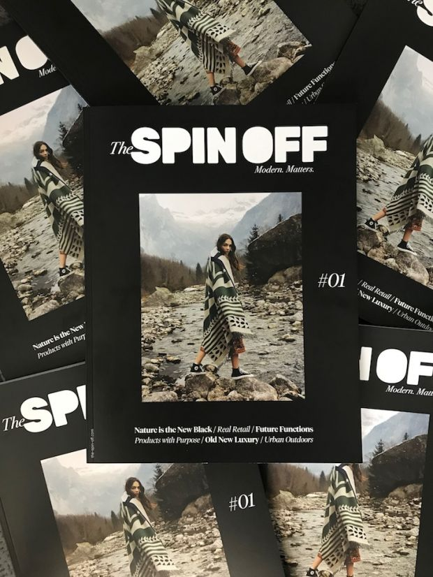 Cover of The SPIN OFF #01