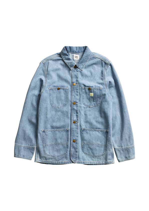 Denim jacket made with hemp from the Lee x H&M capsule