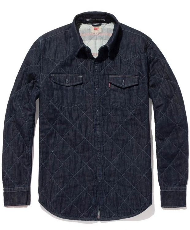 Padded western shirt from the Levi's Wellthread x Outerknown collection