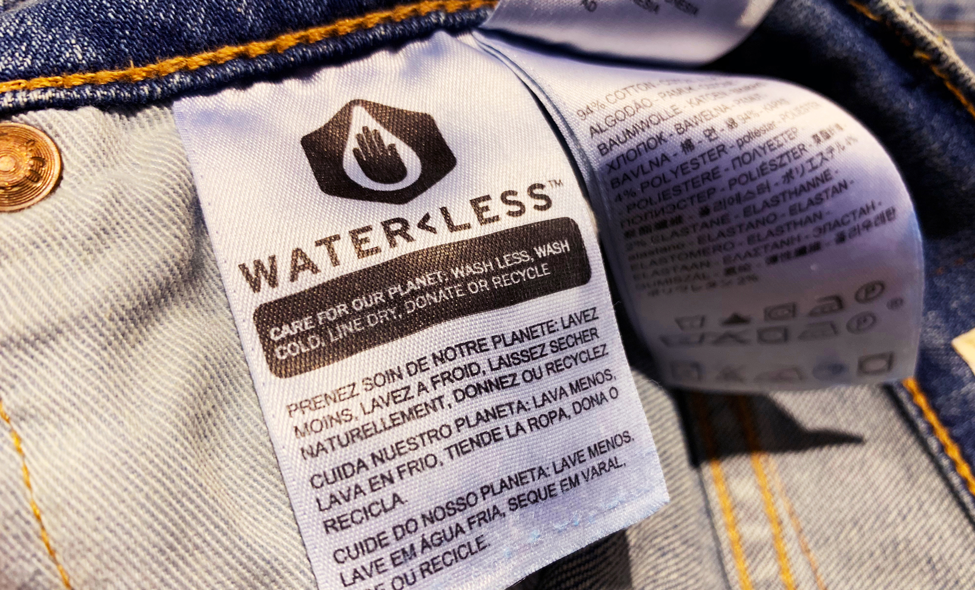 Levi Strauss wants to halve its water use