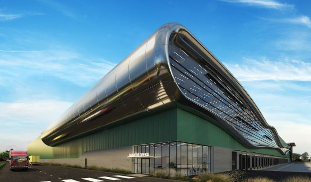 Levi Strauss' new European warehouse opens in 2023 (rendering).