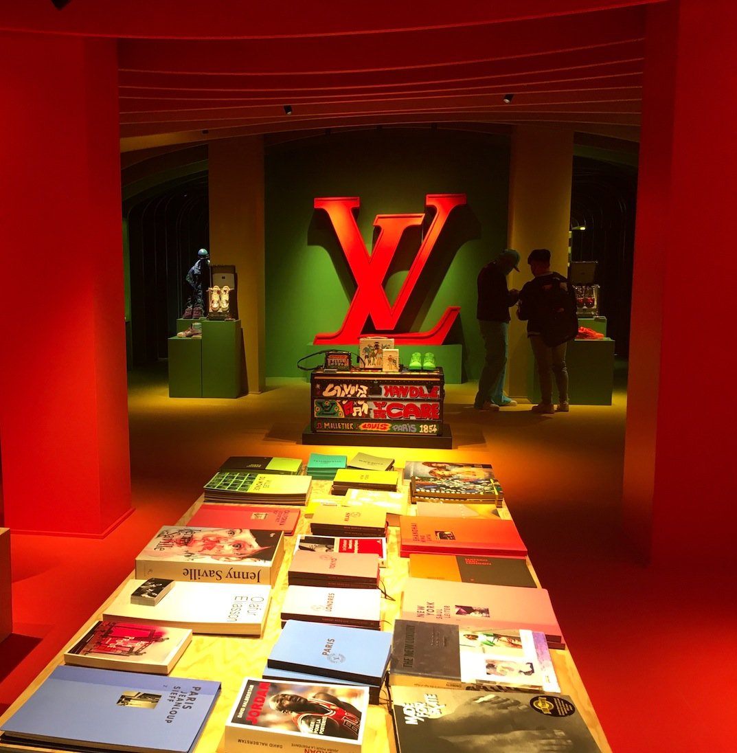 Louis Vuitton pop-up: selling old (and new) stock in a cool way