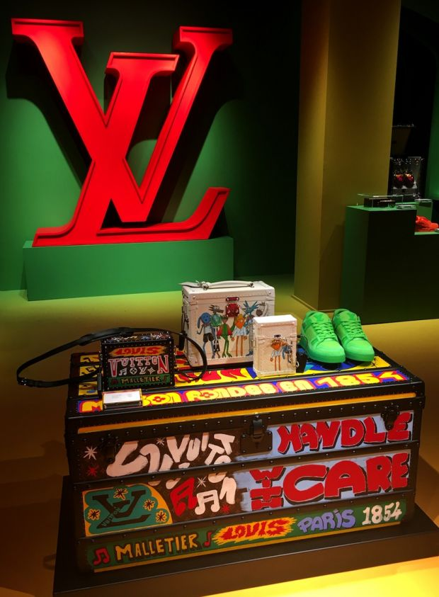 Exclusive LV items on display